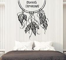 Vinyl Decal Wall Sticker Phrase Words Wish for Sweet Dreams Bedroom Decor (n749)