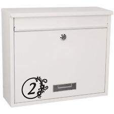 * 1 Sticker Numéro pour Boite aux Lettres - 15 Modèles au choix