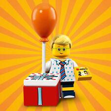 Lego birthday party boy series 18 parts legs torso head hair balloon gift box