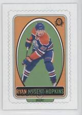 2013-14 O-Pee-Chee Stamps #ST-RN Ryan Nugent-Hopkins Edmonton Oilers Hockey Card