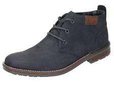 Rieker Boots, Stiefel, Herren Schnürer blau B1340-14 (New)