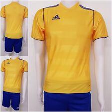 adidas Kinder Trikot Shirt Jersey Shorts Hose Tabe Regi Fußball Tennis gelb O