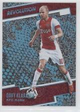 2017 Panini Revolution Disco #145 Davy Klaassen AFC Ajax Soccer Card