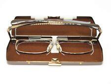 Slimfold basic SF-003 spectacles half eye frames of Kanda Optical of Japan