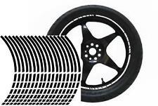 NEW wheel rim tape striping stripes stickers BLACK..(36 pieces/8 per wheel)