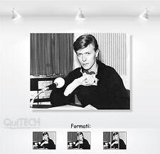 David Bowie - 11 - Quadro stampa su Tela Pelle Canvas Dipinto Arte Moderna