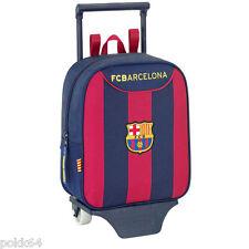 FC Barcelona cartable à roulettes Barcelone trolley S sac à dos 27 cm crèche 923