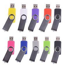 lot, ( 10 PACK ) usb flash drive disk fold Thumb pen stick data storage memory