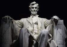 3D Lenticular Postcard - Lincoln Memorial   Washington D.C