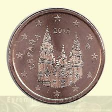 Kursmünzen SPANIEN 2015 unc - Euro cent aus KMS Rolle - Nominal wählbar !!!