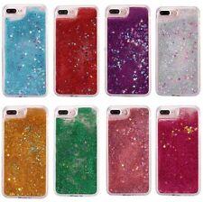 iPhone 7+ / 8+ PLUS - Hard Case Flowing Waterfall Liquid Sparkle Glitter Stars