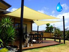 Sonnensegel Sonnendach Sonnenschutz Regenschutz Windschutz Sichtschutz Rechteck