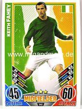 Match Attax Euro EM 2012 - #141 Keith Fahey - Irland