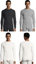 Hanes 125439 Men's Waffle Knit Thermal Crewneck Shirt
