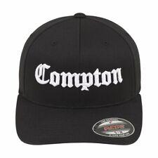 Merchcode Flexfit Stretchable Cap-Compton Nero