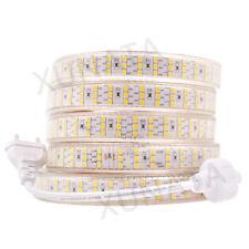 276leds/m 220V SMD 2835 Waterproof led strip Flexible tape Rope light Warm White