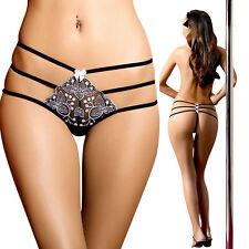 String sexy femme liens élastiques ANAIS CHANTAL 34 36 38 40 42 44 46