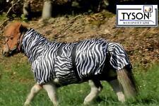 Eksemer Fliegendecke Zebra Minishetty Mini Shetty 60 70 80 90 100 110 Falabella