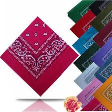 La mode la plus récente Bandana en coton coloris pour hommes et femmes à motif