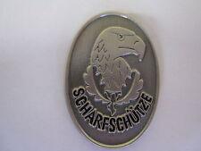"""WH """"Scharfschütze"""" Abzeichen Adler mit Eichenlaub Pin #2 Wehrmacht WXX WK 2 WWII"""