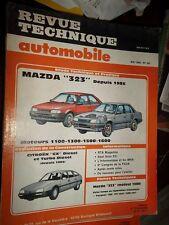 Mazda 323 dp 1985 essence sauf 4x4 : revue tech RTA 491