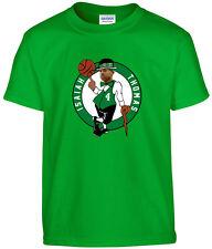 "Boston Celtics Isaiah Thomas ""LOGO"" T-shirt jersey S-5XL"