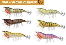 Savage Gear 3D Hybrid Shrimp Egi Jig - Garnelen Imitation, Meeresköder
