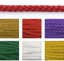 Baumwollkordel 6mm / 25m Kordel Baumwolle Schnur 9 Farben Deko Kordel