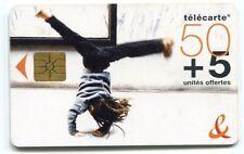 TELECARTE 50  +5  UNITES OFFERTES FRANCE TELECOM