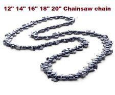"""CHAINSAW CHAIN FITS 12"""" 14"""" 16"""" 18"""" 20"""" STIHL Husqvarna Ryobi Chainsaws 45-76 DL"""
