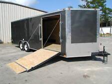 NEW 8.5 x 24 Enclosed Carhauler Cargo Trailer 10K Axles
