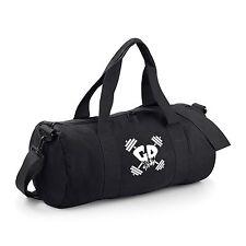 Get Down Gymwear Branded Barrel Bag Bodybuilding Gym Sports Holdall MMA Men Lady