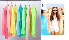 Verano Mujer Niña Manga Larga Anti Uv Sol Protección Chaqueta Blusa Tops