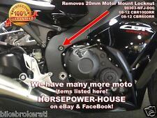20mm MOTOR MOUNT LOCK NUT SPANNER SOCKET HONDA CBR600RR CBR1000RR 08 09 10 11 12