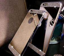 Luxury Mirror Diamond Bling Silikon Case Schutzhülle Für iPhone 5 5S SE 6 6S 7