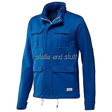 NWT~Adidas M65 SAFARI MIX JACKET sweat shirt FRECH TERRY Track Hoody Top~Men Lrg