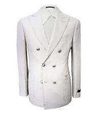 Pal Zileri Men's Beige Wool,Linen & Silk Jacket Regular fit, size XS,  XL
