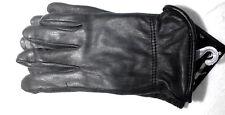 Ladies Deerskin Luxury Winter Driving Glove Black Lined 40 Gram Thinsulate