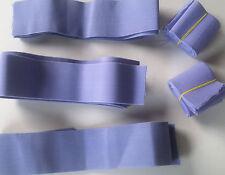 """Ancho 2"""" Azul Cielo elástico tramo plana Vestido con Pretina Elástica puños tejido Sew"""