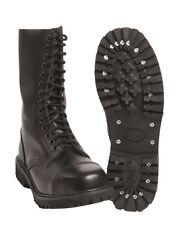 Mil-Tec Chaussures 14-Trou Invader Chaussure Lacée gothicschuhe Bottes Noir 37-47
