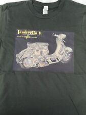 LAMBRETTA Li serie 2 Uomo 100% biologico T-Shirt Lambretta Vespa Scooter Mod Retrò