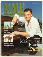 MMR MUSICAL MERCHANDISER REVIEW MAGAZINE MAXIMILIAAN RUTTEN NAMM SEPTEMBER 2006!