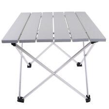 Tavolo da picnic da campeggio pieghevole in alluminio per esterni con comoda