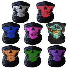 Esqueleto cráneo máscara facial Biker Pasamontañas Call of Duty Call of Duty Bandana Cuello Tubo