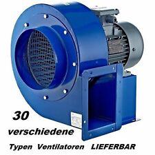 230V 400V 1950m³h Radialgebläse Axial Zentrifugal Radialventilator Radiallüfter