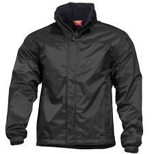 Pentagon Atlantic Regen Jas 2.0 Tactische Heren Hooded Stedelijke Nylon Zwart