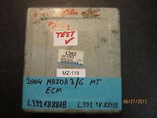 04 MAZDA 3/6 M/T ECU/ECM #L39218881B  *see description*
