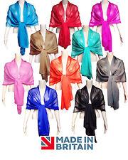 Chiffon Wrap WEDDING - 20 colours - Prom Bridal shawl scarf, 200cm x 70cm