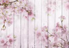 Fototapete Tapete Wandbild Vlies F11657 Kirschblüten auf den Brettern #GESCHENK