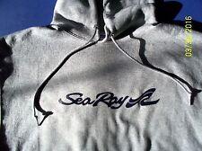 Sea Ray Boats Screen Printed Oxford Hooded Sweatshirt 9.5 oz. Heavy 50/50s